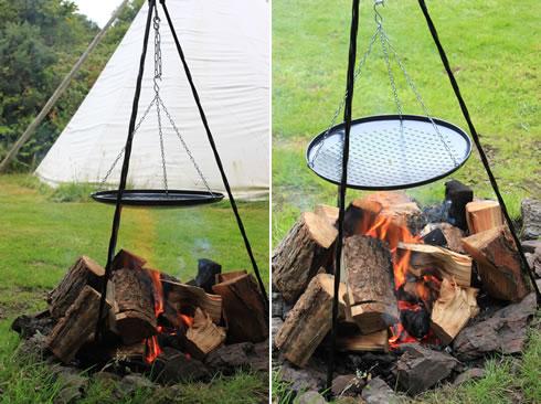 Campfire Tripod Grill