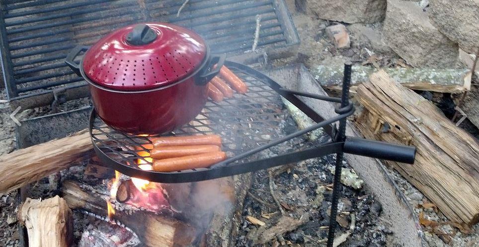 open fire grilling